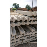 Concrete Slotted Intermediate Post 2400 x 100 x 87mm Wet-Cast