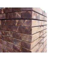 Eased Edge New Softwood Sleepers 4200 x 150 x 75mm