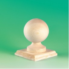 Ball Finial with 125mm Base