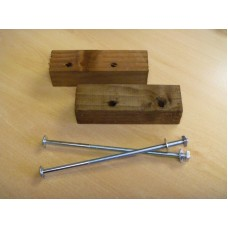 Gravel Board Fittings for concrete posts