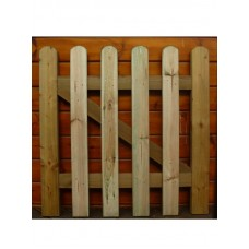 Palisade Gate PSE Round Top Framed Ledged & Braced sizes from 900mm High