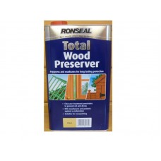 Ronseal Wood Preserver Clear 5 litre