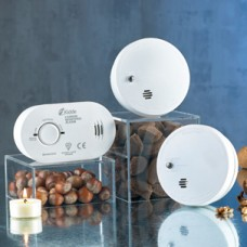 Twin Smoke & CO Alarm Set