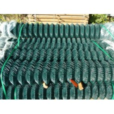 Chainlink Fencing Green PVC 1200mm High x 10m