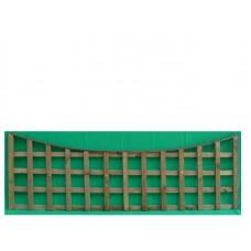 Square Trellis Panel Concaved